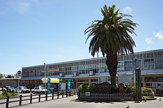Shingū Station Railway station in Shingū, Wakayama Prefecture, Japan