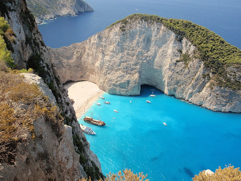 Shipwreck Beach - Western coast of Zakynthos, Greece (12)