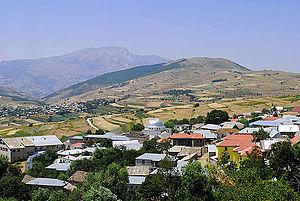Shishtavec - Image: Shishtavec village, Kukes District