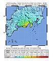 Shizuoka Earthquake Shakemap 20090811.jpg