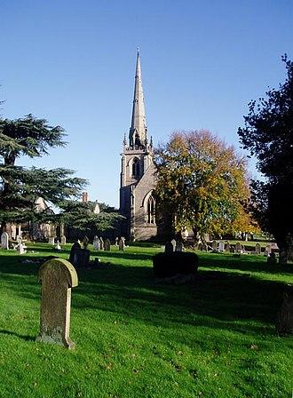 Clopton Lloyd-Jones - Shrewsbury Cemetery where he is buried (his gravestone not shown).