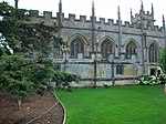 Side view of St Mary's Church, Sudeley Castle.JPG