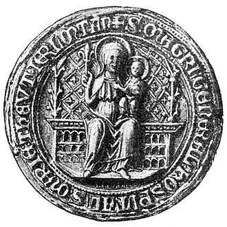 Grand Master of the Teutonic Order - Image: Siegel Grossmeister Deutschritterorden