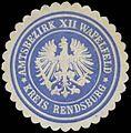 Siegelmarke Amtsbezirk XII Wapelfeld W0325827.jpg
