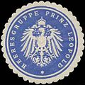 Siegelmarke Heeresgruppe Prinz Leopold W0357340.jpg