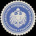 Siegelmarke K. Deutsches Gouvernement von Südwestafrika W0337622.jpg