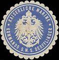 Siegelmarke K. Marine Kommando S.M.S. Derfflinger W0370776.jpg