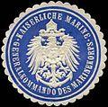 Siegelmarke Kaiserliche Marine - Generalkommando des Marinekorps W0239784.jpg