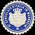 Siegelmarke Ro Consolato d'Italia in Mannheim W0223484.jpg