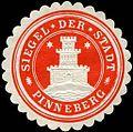 Siegelmarke Siegel der Stadt - Pinneberg W0226492.jpg