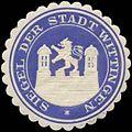 Siegelmarke Siegel der Stadt Wittingen W0349233.jpg