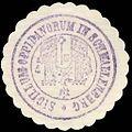 Siegelmarke Sigillum Oppidanorum in Schmallenberg W0229285.jpg