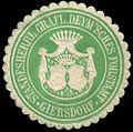 Siegelmarke Standesherrl. Gräfl. Deymsches Forstamt Giersdorf W0309808.jpg
