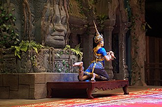 Dance in Cambodia - Image: Siem Reap Dance of Cambodia (3)