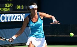 Silvia Soler-Espinosa at the 2011 US Open.jpg