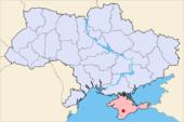 Simferopol in der Ukraine