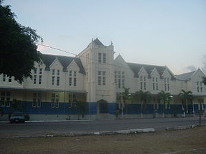Jamaica College - The Simms building