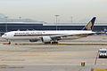 Singapore Airlines, 9V-SWH, Boeing 777-312 ER (16456161822).jpg