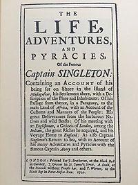 Captain Singleton cover