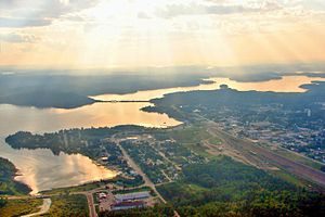 Sioux Lookout - Aerial view of Sioux Lookout