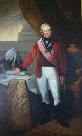 John Coape Sherbrooke - Sir John Sherbrooke by Robert Field, The Halifax Club