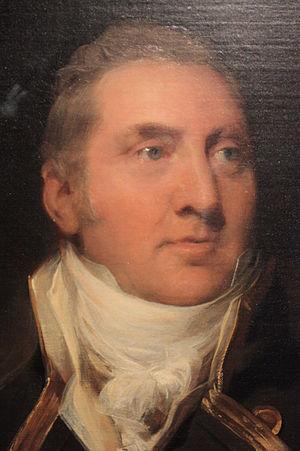 Edward Pellew, 1st Viscount Exmouth - Sir Edward Pellew by Sir Thomas Lawrence (detail)