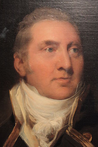 Edward Pellew, 1st Viscount Exmouth - Sir Edward Pellew by Sir Thomas Lawrence (detail)