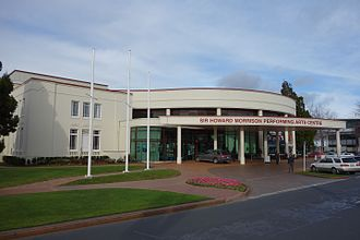 Howard Morrison - The Civic Theatre in Rotorua was renamed the Sir Howard Morrison Performing Arts Centre
