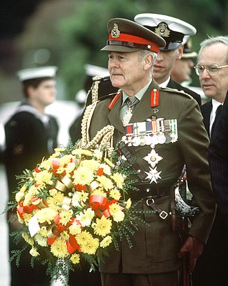 Chief of the Defence Force (Australia) - General Sir Phillip Bennett, the last Defence chief knighted in office