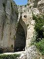 Siracusa, neapolis, latomia dell'orecchio di dioniso 04.JPG