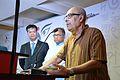 Sirshendu Mukhopadhyay Addresses - Apeejay Bangla Sahitya Utsav Inauguration - Kolkata 2015-10-10 4921.JPG