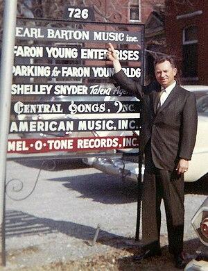 Si Siman - Siman in Nashville in the 1960s