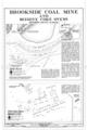 Site Plan and Foundation Remains - Brookside Coal Mine, Mount Olive Road North of Five Mile Creek Bridge, Brookside, Jefferson County, AL HAER ALA,37-BROK,5- (sheet 1 of 1).png
