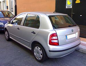 Škoda Fabia - Hatchback (pre-facelift)