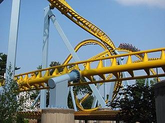 Skyrush - Part of Skyrush's track