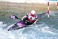 Slalom canoeing 2012 Olympics W K1 GBR Lizzie Neave.jpg