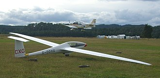 Slingsby Vega - Image: Slingsby Vega And DR400 panoramio (crop)