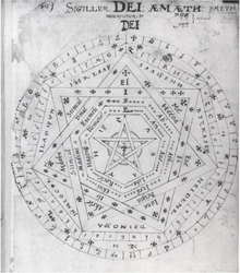 The Seal Of God A Mystic Pentagram Symbol Composed By Dee