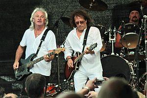 Smokie (band) - Smokie performing in Einsiedel, Germany in June 2009