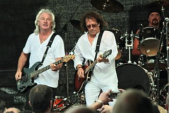 Smokie (band) - Smokie performing in Einsiedel, Germany in June 2009
