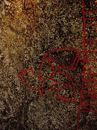 Snoldelev Stone - Image: Snoldelevhorns
