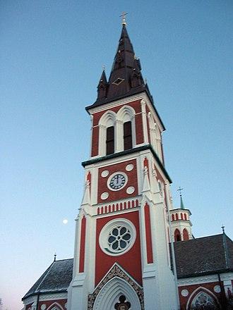 Jönköping - The Sofia Church in Jönköping, Neo-Gothic style, 1888