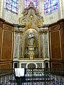 Soissons (02), cathédrale, chapelle rayonnante d'axe, autel et retable de la Vierge Marie 1.jpg