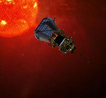 Solar Probe Plus spacecraft on approach to the sun.jpg