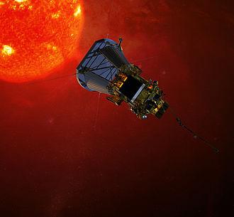 Parker Solar Probe - Artist's impression of Parker Solar Probe