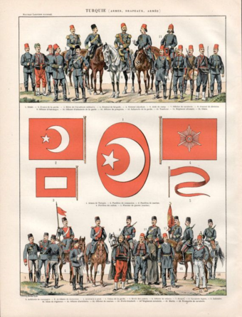 The Ottoman Imperial Army in 1900 Soldiers 1900.png