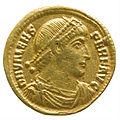 Solidus of Valens (YORYM 2001 12460) obverse.jpg