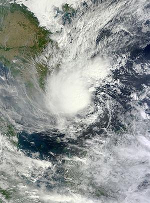 2013 Pacific typhoon season - Image: Sonamu Jan 5 2013 0310Z