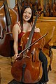 Soo Bae with the ca. 1696 Bonjour Stradivari cello.jpg