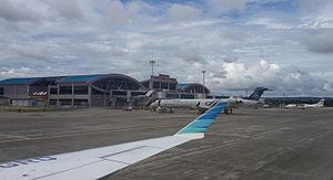 Domine Eduard Osok Airport - Image: Sorong Airport